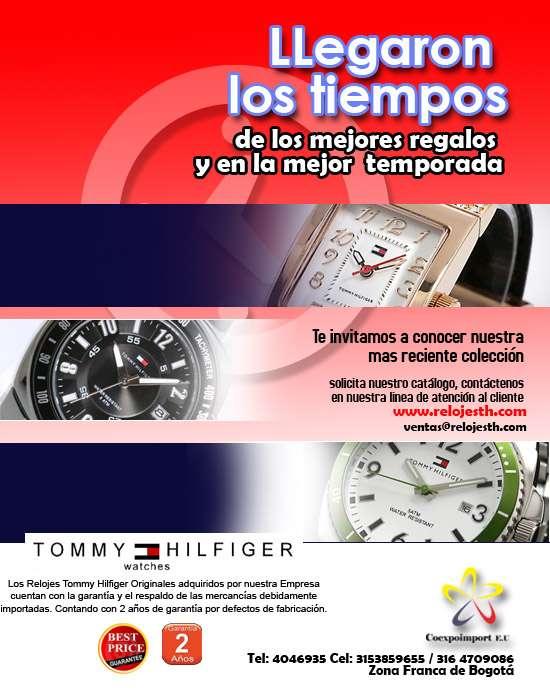 Relojes tommy hilfiger originales con garantia de 2 años
