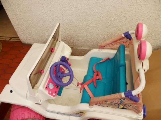 Vendo carro barbie - usado ganga en bogota
