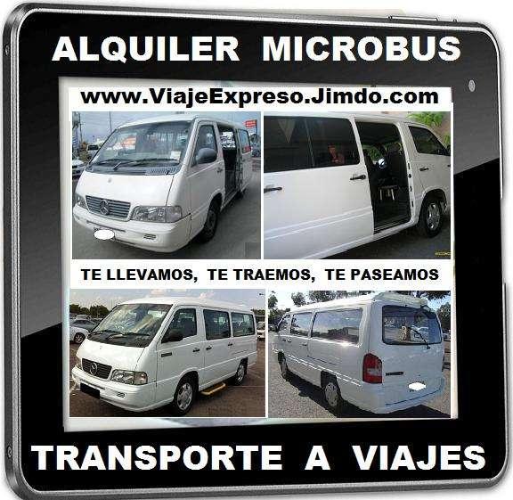 Transporte especial de pasajeros, alquiler micro bus con conductor, te llevamos, te traemos, te paseamos. para viajes, paseos, eventos, tours y mas. particular, grupal, familiar, empresarial, ejecu