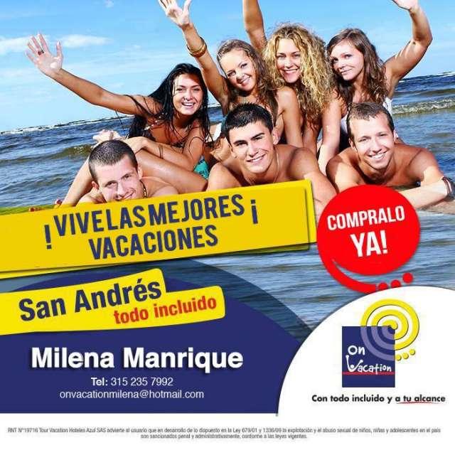 Viaja a san andres panama y amazonas