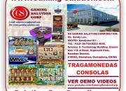 FABRICA Maquinitas, TragaMonedas, Consolas, Video Juegos, TragaPerras, Repuestos, Tableros