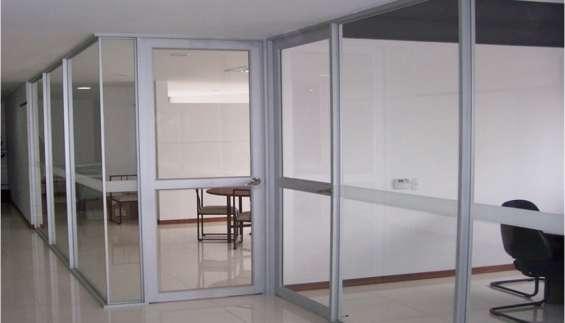 Aluminio arquitectónico vidrio