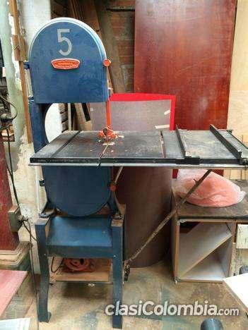 Arriendo maquinas para taller de carpintería o ebanistería
