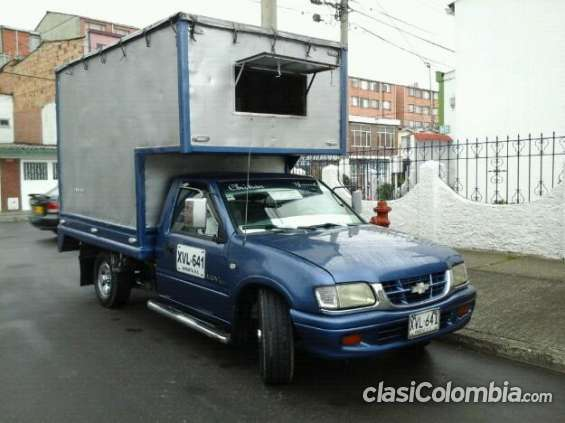 Vendo camioneta chevrolet luv muy poco uso.