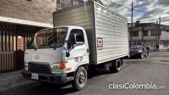 Hyundai hd 65 furgon 2009 3.5 toneladas remato urgente.