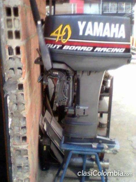 Escucho oferta motor yamaha 40 excelente estado.