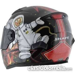 Vendo casco shaft en buen estado.