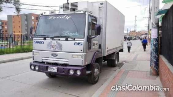 Vendo ford cargo termorefrigerado funciona perfectamente!!!
