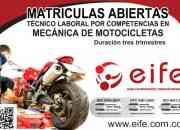 Atención: mecánica de motocicletas consultar.