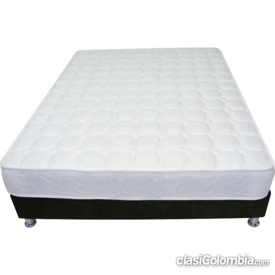 Colchón sencillo con base cama en $379.900