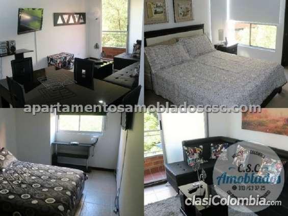 Apartamentos amoblados para renta código. ap57 ( poblado – castropol )