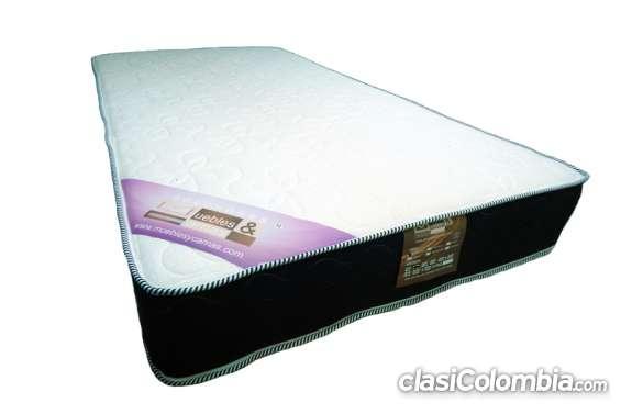 Somier + colchón por solo 399.900 semi-doble