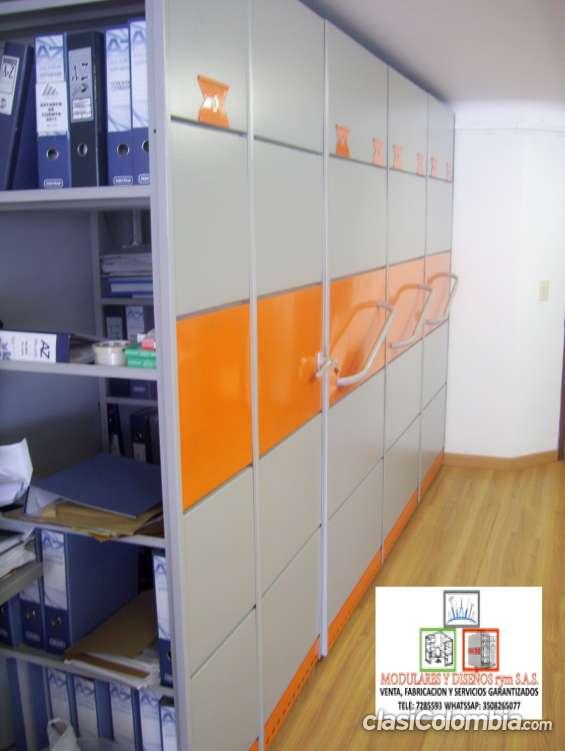 Venta e instalación de archivos rodantes