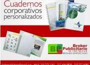 CUADERNOS ARGOLLADOS Y BLOCK PUBLICITARIOS