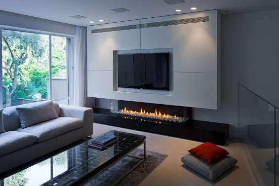 Chimeneas a gas y bioetanol, ideales para tu hogar