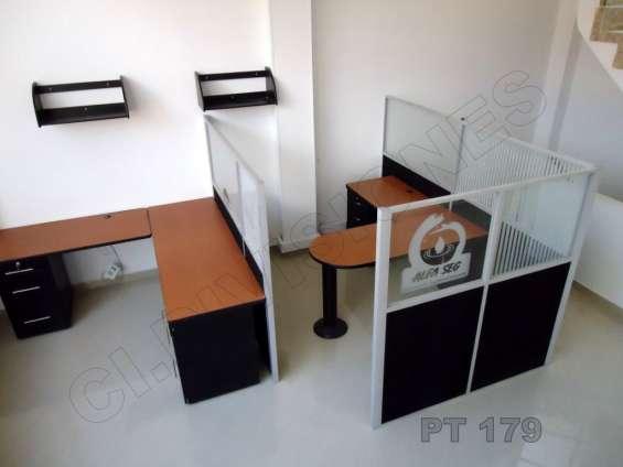 Desmonte, re ubicación y fabricación de muebles para oficina