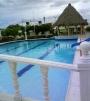 Alquilo casa vacacional para hospedaje en condominio con 2 piscinas