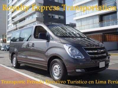 Transporte privado al aeropuerto de lima peru - servicio de vans h1