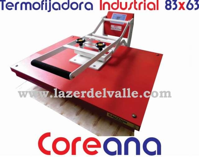 Maquina termofijadora 83x63 industrial coreana vendo en medellin