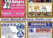 Urgente adopta mascotas abandonadas, perros, gatos, no lo compres, adoptalo. las fundaciones lo entregan desparasitado, esterilizado, vacunado, recuperado, la mayoria no son de raza o no son cachorros