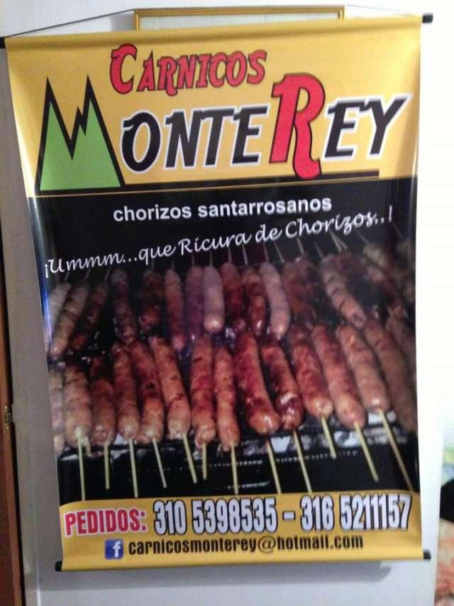 Chorizo santarosanos, excelente sabor y precio