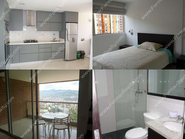 Apartamento en arriendo en el poblado (medellin) cód.104443