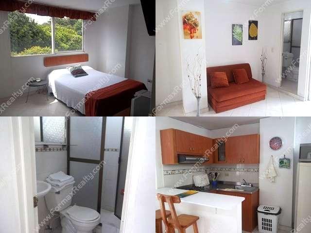 Apartamento en arriendo en laureles (medellin) cód.104473