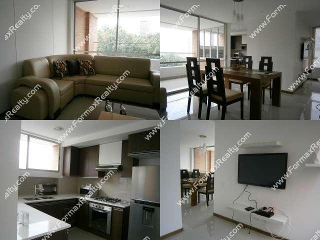 Apartamento en arriendo en el poblado (medellín) cod.108718