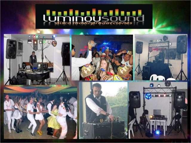 Sonido para fiestas y eventos luces y animador dj