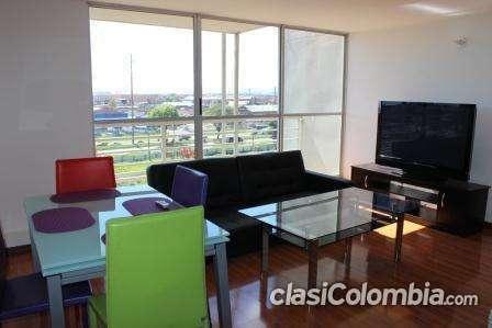 Apartamentos amoblados modernos en muy buenas condiciones.