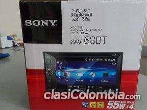 Tengo para vender radio sony xav68bt doble a buen precio.