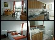 Apartamento amoblado para la renta en el poblado  cod. 1018