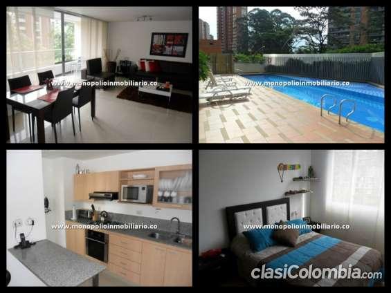 Apartamento amoblado para la renta en santafe cod. 2559