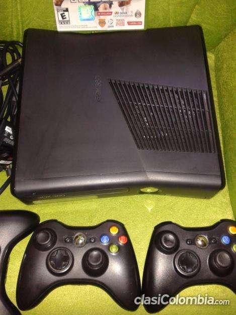Impecable Ganga Xbox 360 Slim Original 3 Controles 1