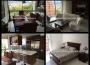 Apartamento amoblado para alquiler en laureles cod. 2562