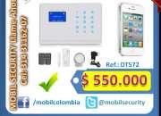Alarma Inalambrica GSM/Celular Automonitoreo
