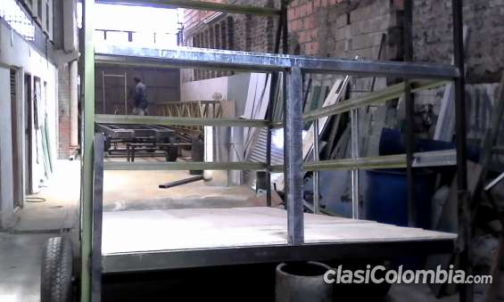Proceso de fabricación: sup_piso en madera, para protección de piso ppal.