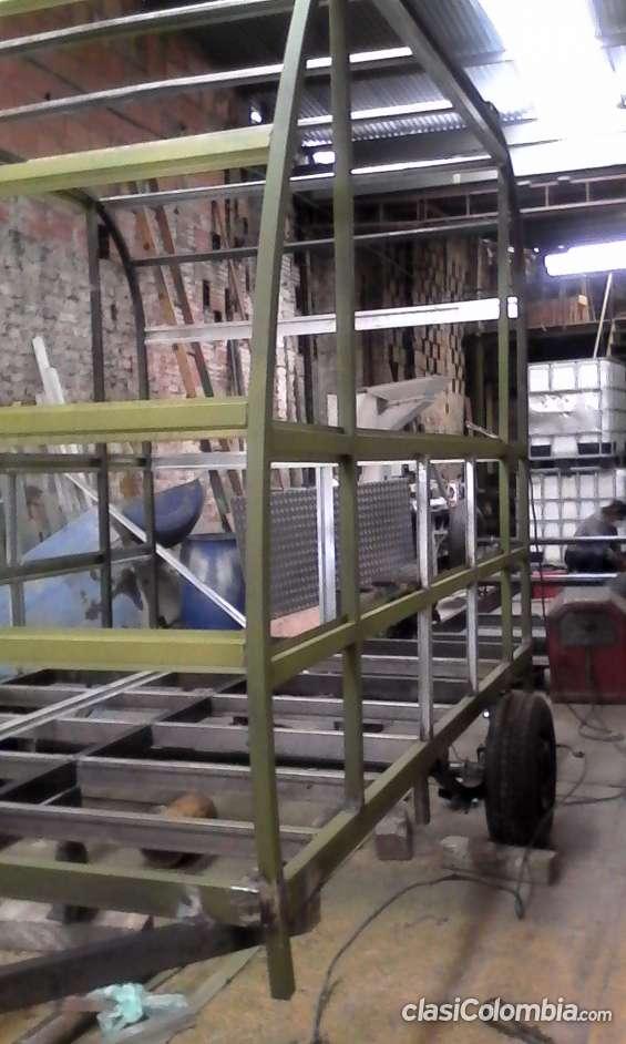 Proceso de fabricación: esqueleto furgón y chasis