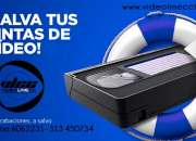 Transfer de video - vhs, beta, v8 a dvd