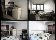 apartamento tipo loft amoblado en medellin florida nueva  cd 4204 gz