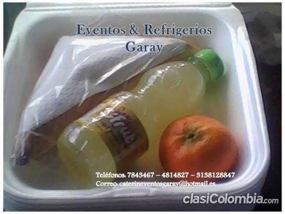 Refrigerios economicos