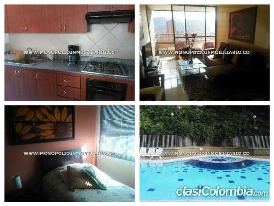 Apartamento amoblado en medellín - el poblado cod: 5303 l