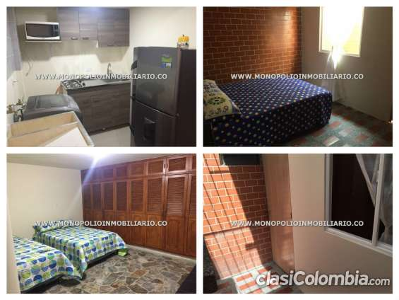 Apartamento amoblado en medellín - simón bolívar cod: 5039 l