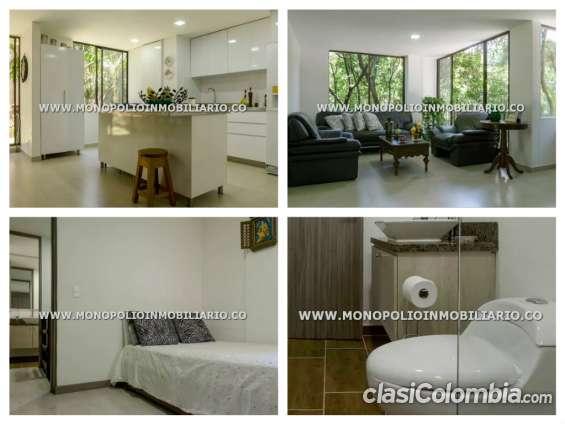 Apartamento duplex amoblado para la renta en medellín - poblado cod: 5182 x