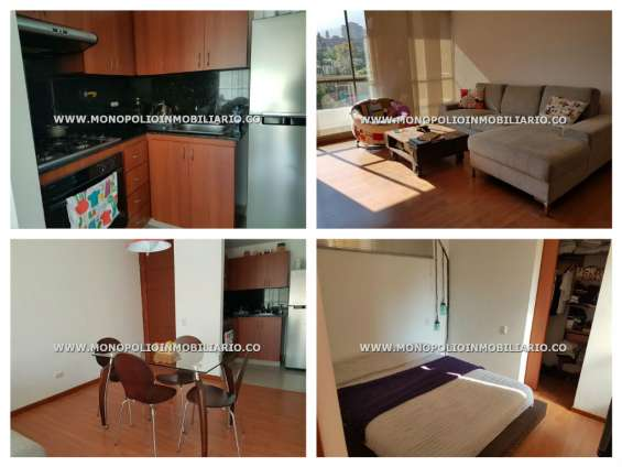 Apartamento amoblado para alquiler en envigado - san jose cod.8077