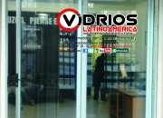 Puertas en aluminio  vidrios latinoamerica