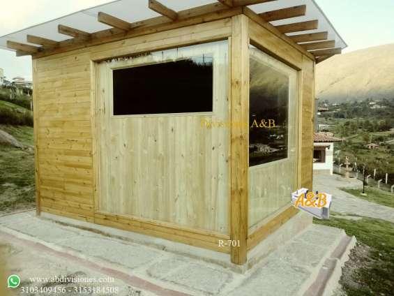 Saunas para interior o exterior
