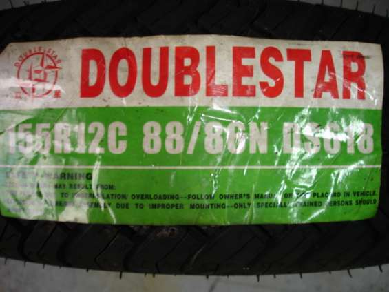 Llantas nuevas doublestar 155r12c radiales