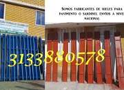 RIELES PARA PAVIMENTO PARALES GATOS PUNTALES METALICOS