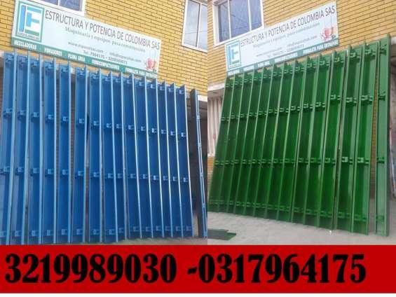 Riles metalicos para construccion de sardinel